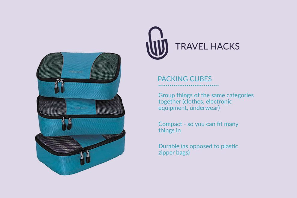 packing cubes practical durable